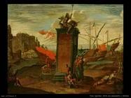 Agostino Tassi Porto con Neptuno monumento