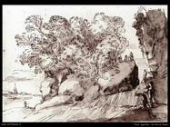 Agostino Tassi río del paisaje