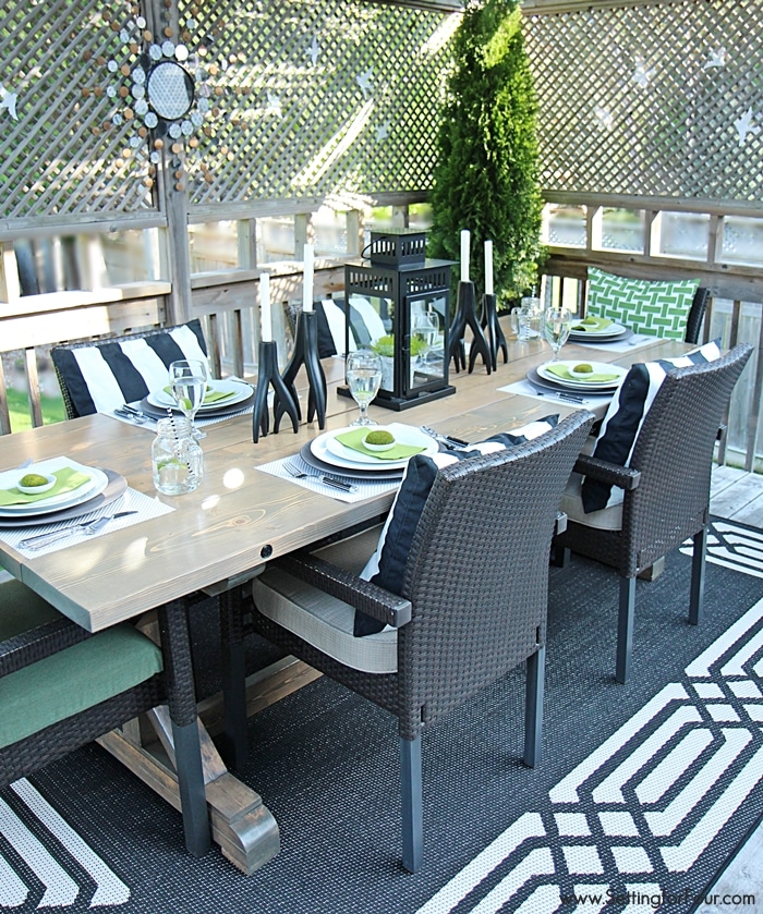 decorating with lanterns outdoor and