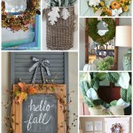 7 Fabulous Fall Wreath Ideas For Your Home Setting For Four