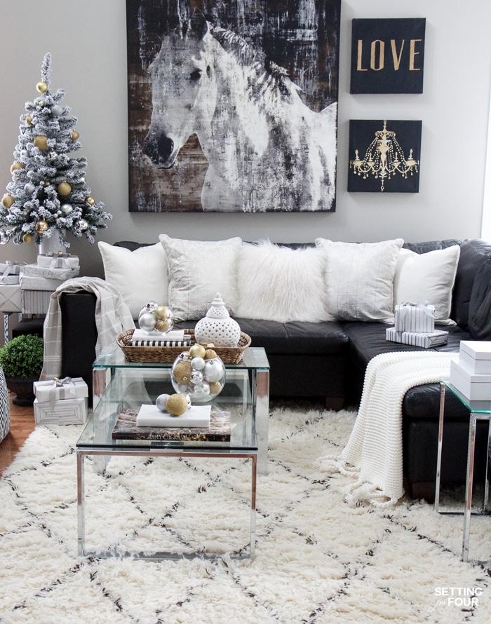 christmas family room decor ideas