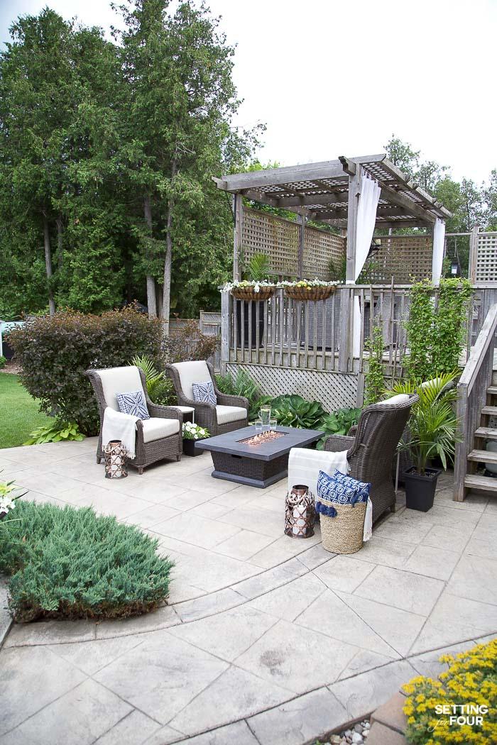 Outdoor Patio Ideas, Patio Furniture and Backyard Decor ... on Cheap Backyard Patio Ideas id=25041