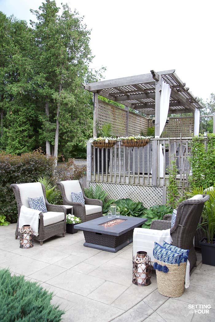 Outdoor Patio Ideas, Patio Furniture and Backyard Decor ... on Cheap Backyard Patio Ideas id=14083