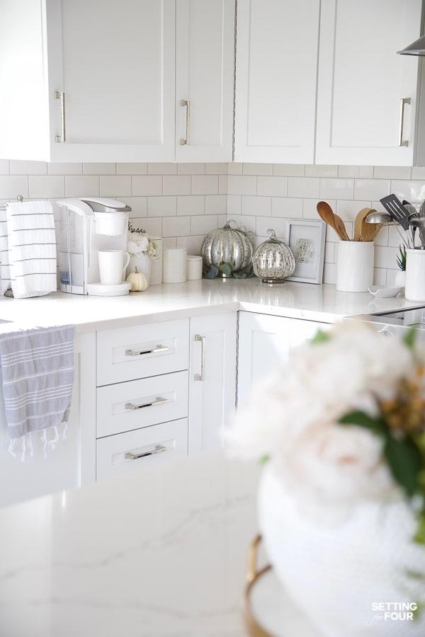 Fall Kitchen Decor Ideas - Kitchen Island, Countertops and ... on Kitchen Countertop Decor  id=93902