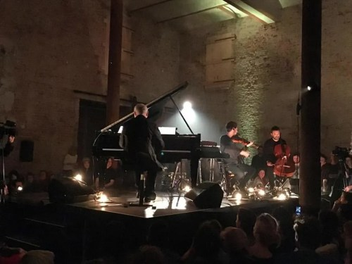 (Only in Berlin: Intimate Ludovico Einaudi concert in a restored Brewery)