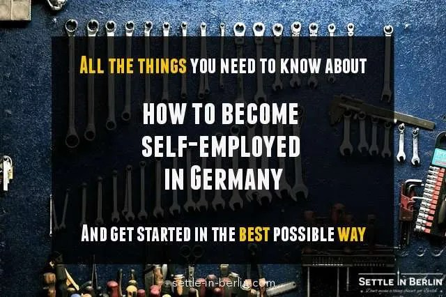 How to become a freelancer in Germany