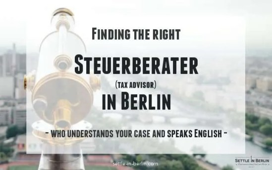 English-speaking Steuerberater Berlin