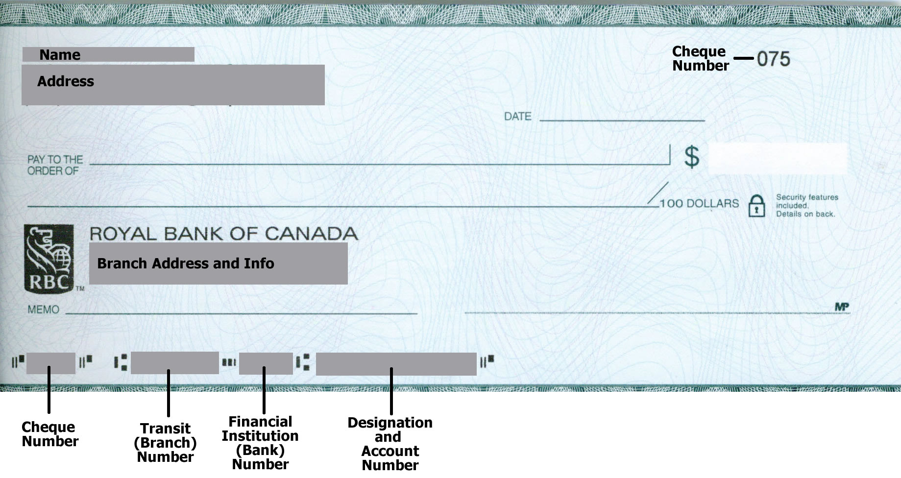 Cheques in Canada