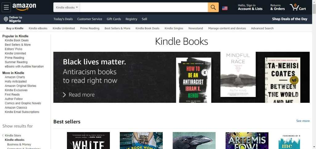 How to sell ebooks on Amazon Kindle