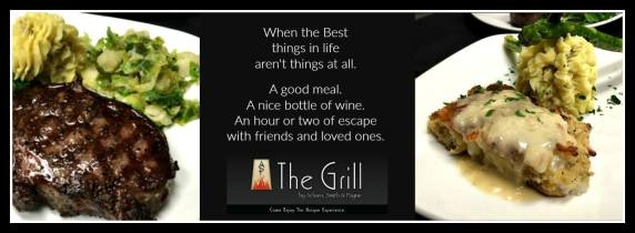 The Grill Beaumont TX, restaurant Beaumont West End, fine dining Beaumont TX, restaurant review Beaumont TX, restaurant recommendation Beaumont TX, caterer Beaumont TX