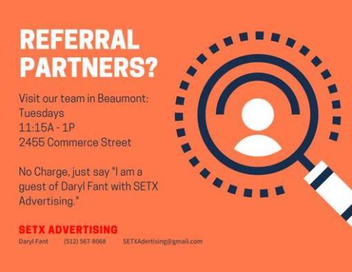BNI Southeast Texas Networkers, BNI Beaumont TX, Referral Group Beaumont TX, referral team Beaumont TX, networking Beaumont TX, SETX networking, networking Southeast Texas, networking events Golden Triangle