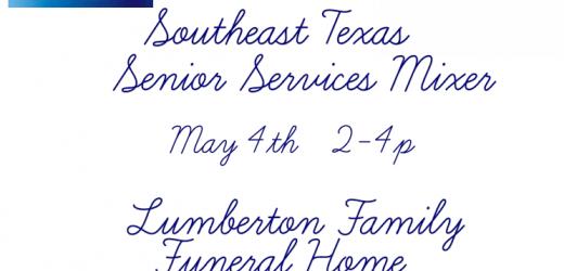 senior services mixer Beaumont, senior services mixer Lumberton, SETX Seniors, Senior Resource Guide