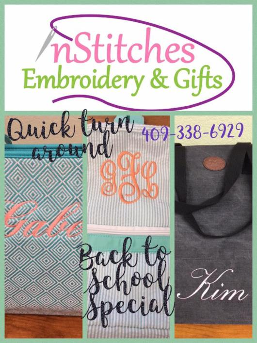 embroidery Beaumont TX, embroidery Southeast Texas, SETX embroidery shop, wedding vendors Beaumont TX, baby gifts Beaumont TX