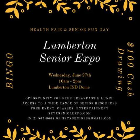 senior expo Lumberton TX, health fair Lumberton TX, senior expo Beaumont, Health Fair Beaumont TX, senior events Texas, senior events Houston TX, senior calendar Texas, senior calendar Houston