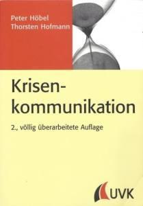 Rezension: Krisenkommunikation von Höbel/Hofmann