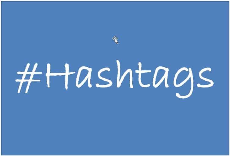 "Gibt es ""gängige, reguläre"" Hashtags?"