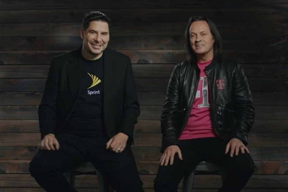 Sprint executive chairman Marcelo Claure and T-Mobile CEO John Legere announce the T-Mobile Sprint merger in April 2018 - A billionaire's ego and his bad decisions led to Sprint's downfall
