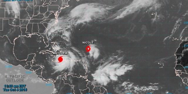 Dos huracanes ponen en alerta a Florida