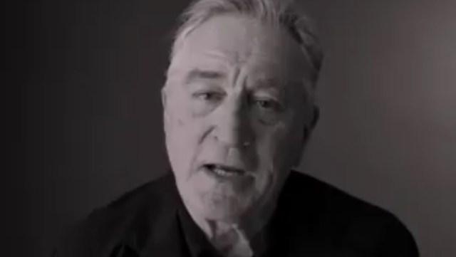 Trump es un payaso y quiero golpearlo en la cara: Robert De Niro (Video)