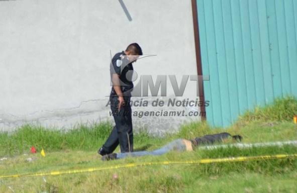 Ejecutan a hombre de tres disparos en Toluca