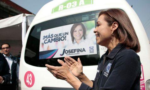 Ofrecerá seguridad a transportistas: Josefina Vázquez Mota