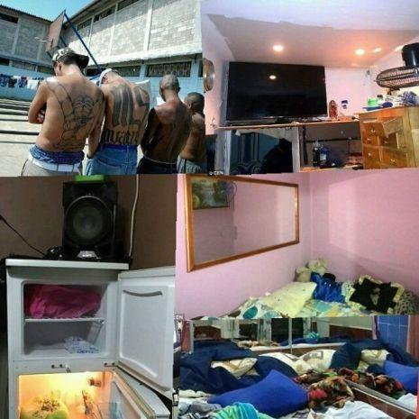 La vida de lujo de los Mara Salvatrucha en prisión