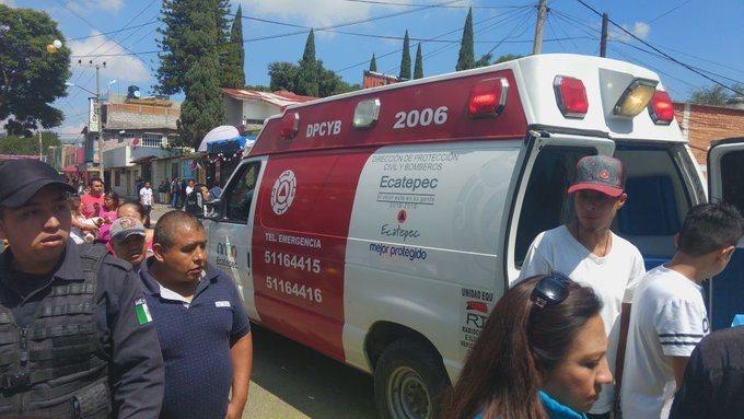 Explosión de pirotecnia deja 12 heridos en fiesta patronal de Ecatepec