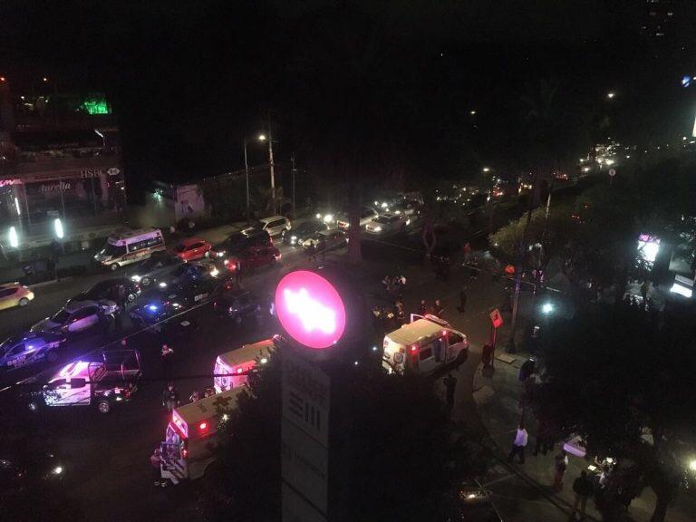 Persecución desata balacera en Lomas de Chapultepec