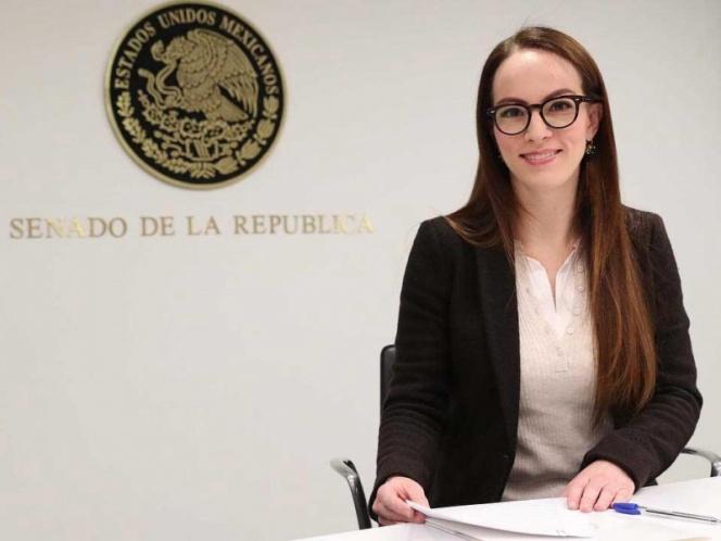 La senadora Gabriela Cuevas renuncia al PAN para apoyar a López Obrador