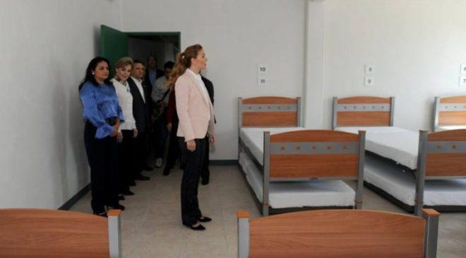 Asiste Fernanda Castillo de Del Mazo a Inauguración de Albergue de ISSEMYM