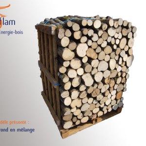 Bois rond 1er choix Nuit d'Hiver (essences G1) – 50 cm