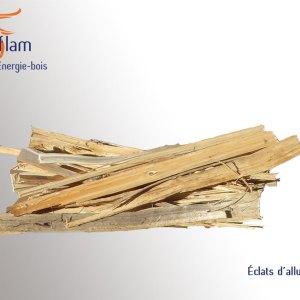 Éclats d'allume feu – carton de 35 dm³
