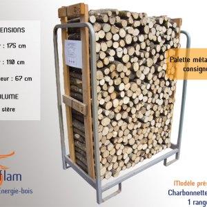Charbonnette 1er choix Pizzéria (essences G1 et G2) – 50 cm