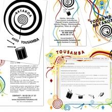 Création et déclinaison graphique pour Tousamba