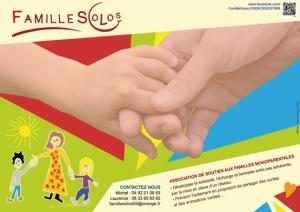 Affiche Association FamilleSolos