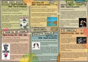 Plaquette saison 2013-2014 du Lap