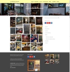 Restaurant La maison Jaune