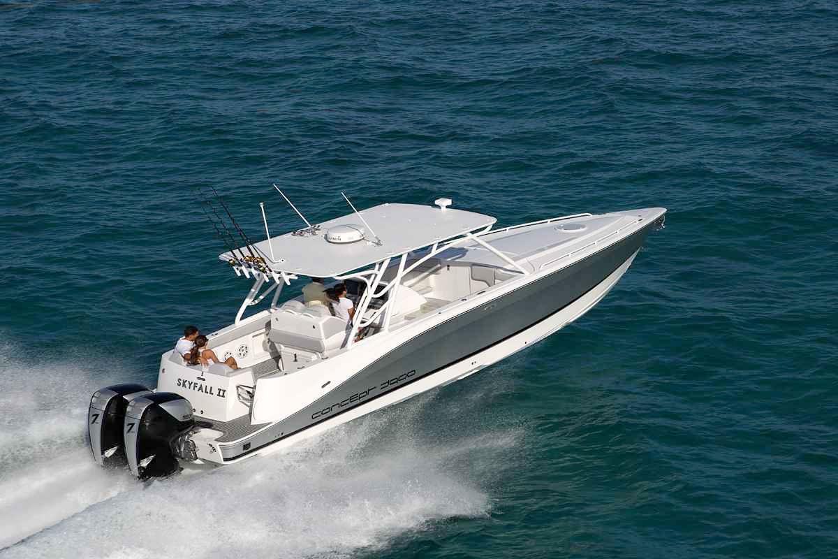 Meet The New Twin 557 Powered Concept 3900 Seven Marine
