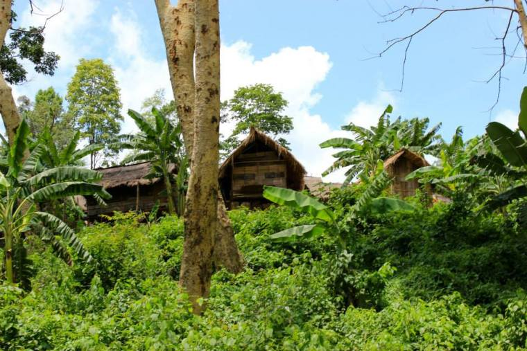 The village of the Karen Hill Long Neck Tribe