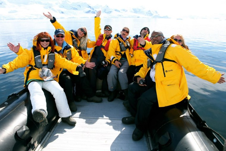My group 'The Syndicate' in Antarctica