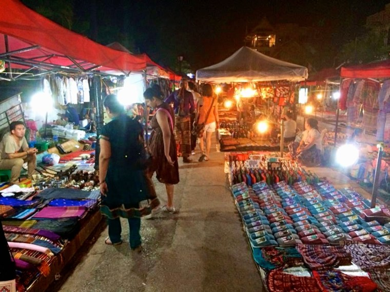 Luang Prabang Night Markets