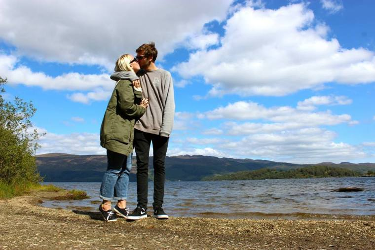 Luss Loving in Loch Lomond, Scotland