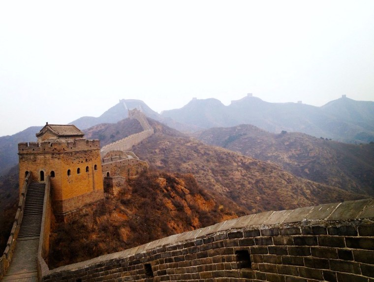 Great Wall of China, Beijing. Photo by Seven Continents Sasha. Jinshanling section.