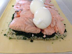 koulibiac de saumon