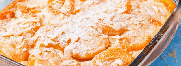 Clafoutis abricots au lait d'amande