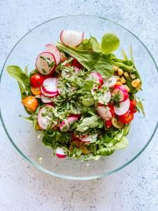 salade de boeuf mariné cyril lignac