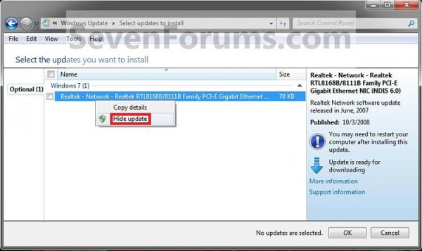 Solved Removing Windows 10 Recommended Update from 8.1 Updates