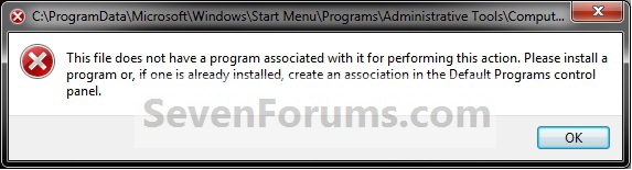 """Manage - Fix """"File does not have a program associated""""-error.jpg"""