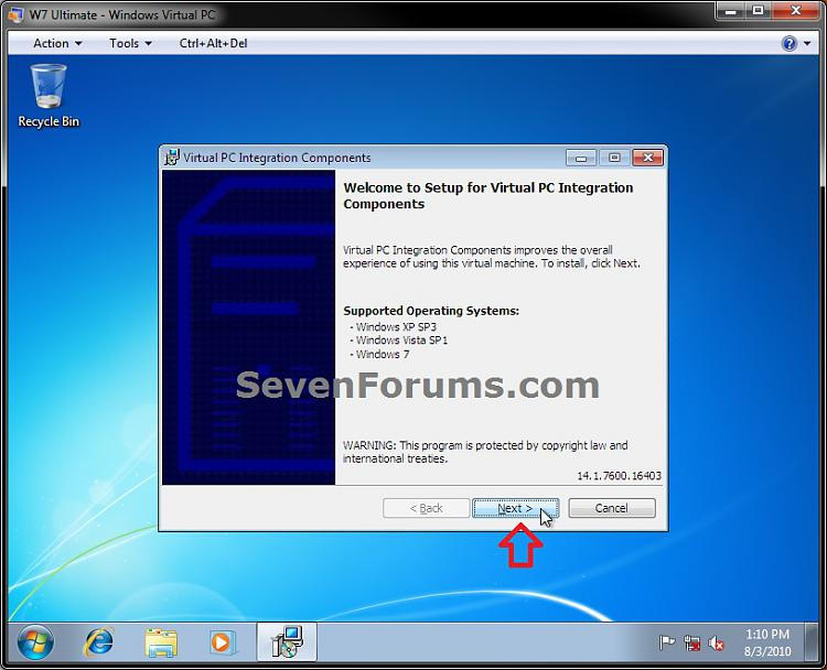 Windows Virtual PC Integration Features - Install, Enable, and Disable-step4.jpg
