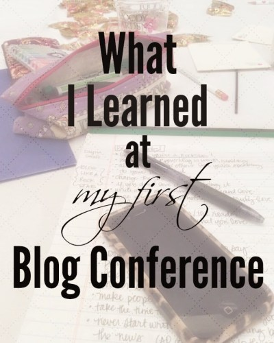 What I Learned at My First Blog Conference
